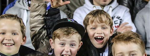 Under-12s Go FREE in 2017/18!