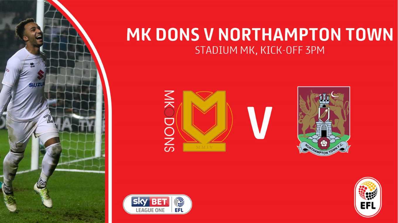 Mk dons v northampton betting previews thursday night football betting trends