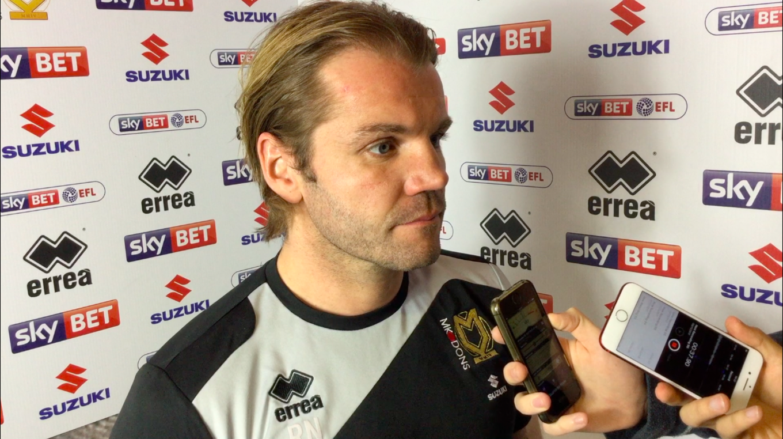 Press conference: Robbie on Fleetwood Town - News - Milton Keynes Dons