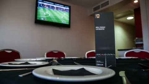 Hospitality options at Stadium MK