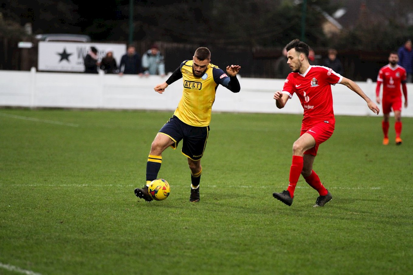 Picture courtesy of Staines Town FC.